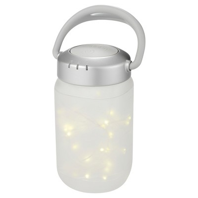 Homedics Firefly Walk-About lantern in Clear