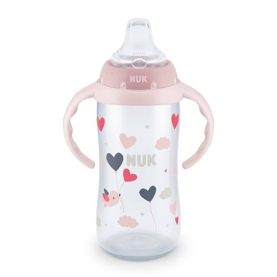 Nuk Large Learner Cup Assorted - Pink - 10oz