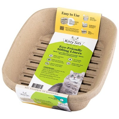 Kitty Sift Eco-Friendly Sifting Cat Litter Box Refill Liners