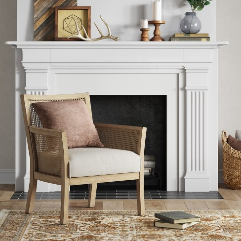 Laconia Caned Accent Chair Beige - Threshold™ : Target