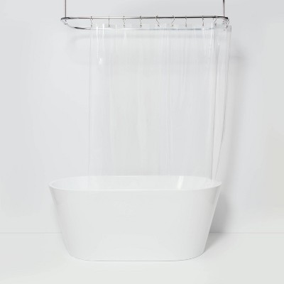PEVA Medium Weight Shower Liner Clear - Made By Design™