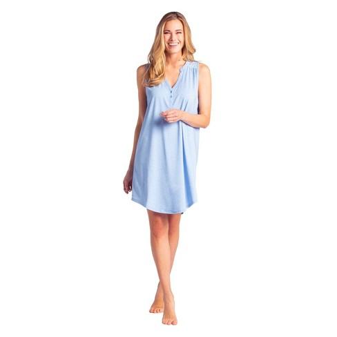 Softies Women's Sleeveless Sleep Shirt - image 1 of 4