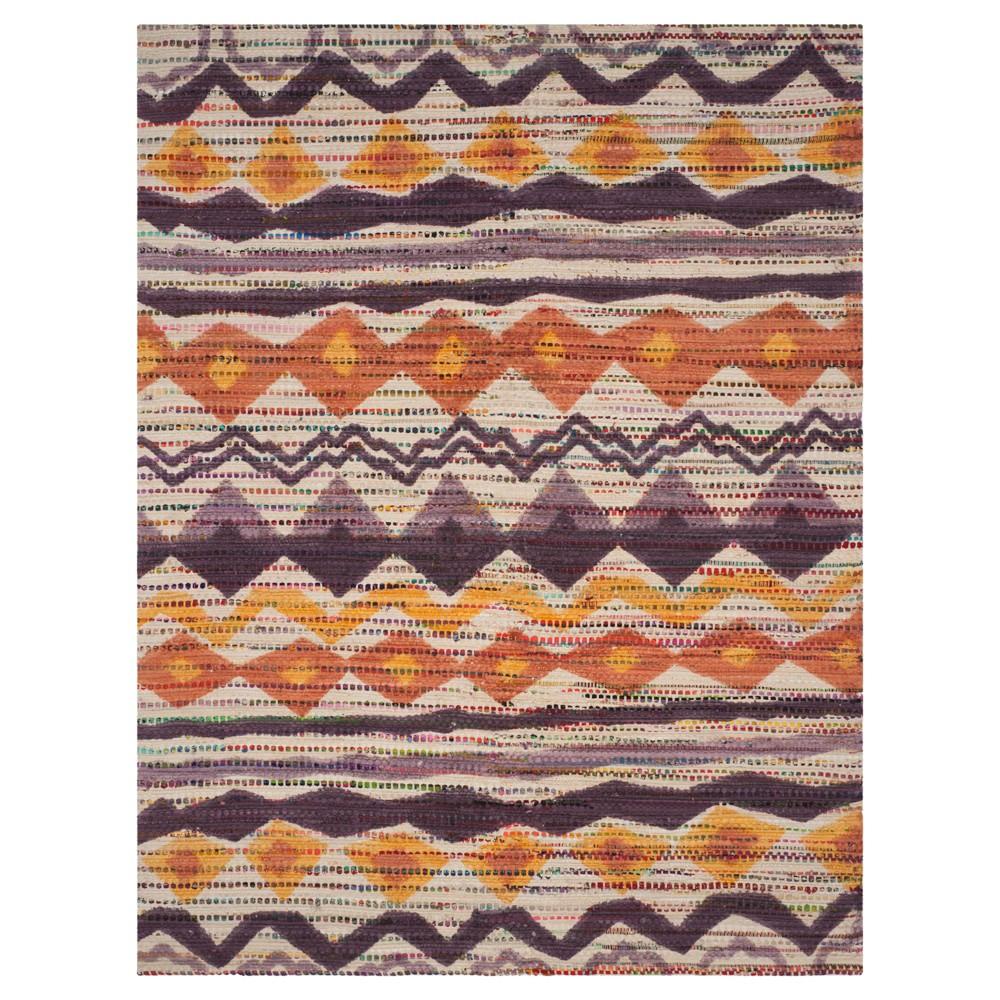 Cedar Brook Rug - Orange- (8'x10') - Safavieh, Orange/Beige