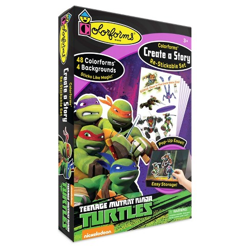 Colorforms Create a Story Teenage Mutant Ninja Turtles Re-Stickable Playset - image 1 of 3