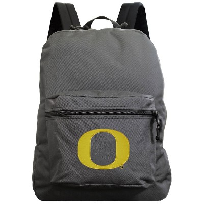NCAA Oregon Ducks Gray Premium Backpack