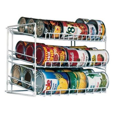 Atlantic Kitchen Storage Can Rack White