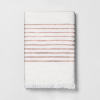 Core Stripe Bath Towel Copper - Hearth & Hand™ with Magnolia