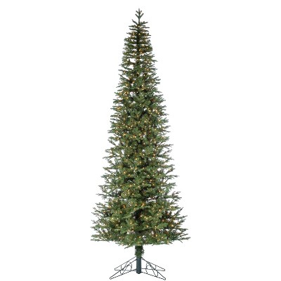 Sterling  12-Foot High Pre-Lit Natural Cut Narrow Jackson Pine with Clear White Lights