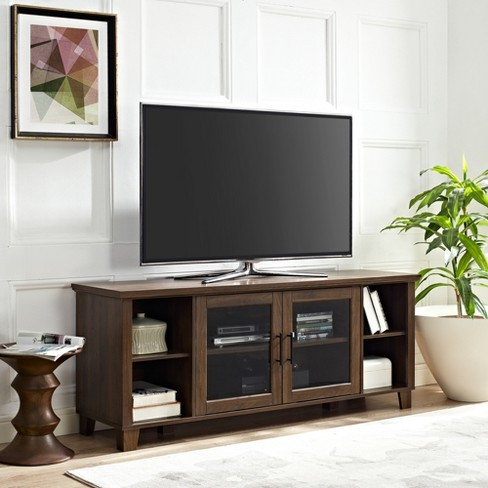 Columbus Tv Stand With Middle Doors Saracina Home Target