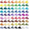 Arteza Fineliner Colored Pens Set, Inkonic, Fine Line, 0.44mm Tips, Assorted Colors - 72 Pack (ARTZ-8753) - image 2 of 4