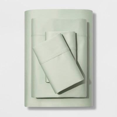 Full 500 Thread Count Tri-Ease Sheet Set Green - Project 62™ + Nate Berkus™