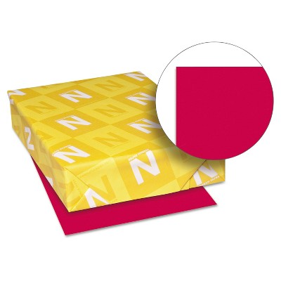Neenah Paper Astrobrights Colored Paper 24lb 8-1/2 x 11 Re-Entry Red 500 Sheets/Ream 22551