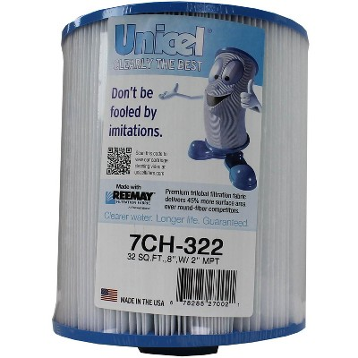 Unicel 7CH-322 Replacement Spa Filter Cartridge 32 Sq Ft Pleatco PAS35-2 FC-0420