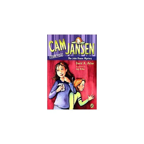 CAM Jansen and the Joke House Mystery - (Cam Jansen) by  David A Adler (Paperback) - image 1 of 1