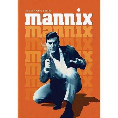 Mannix: The Complete Series (DVD)(2020)