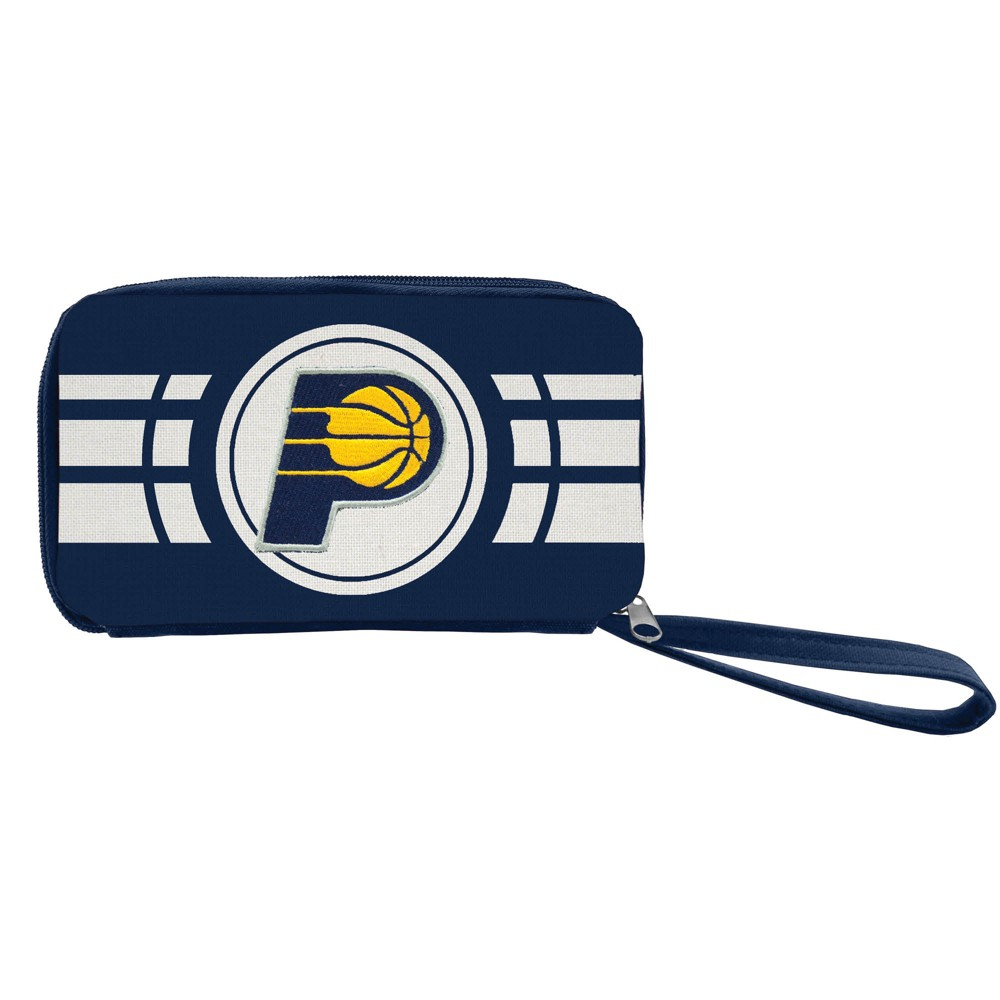 NBA Indiana Pacers Ripple Zip Wallet, Adult Unisex