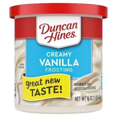 Duncan Hines Vanilla Frosting - 16oz