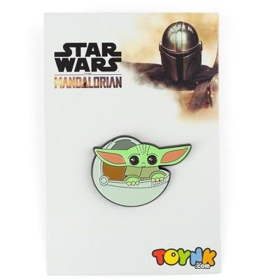Star Wars: The Mandalorian The Child Baby Yoda In Carriage Enamel Pin
