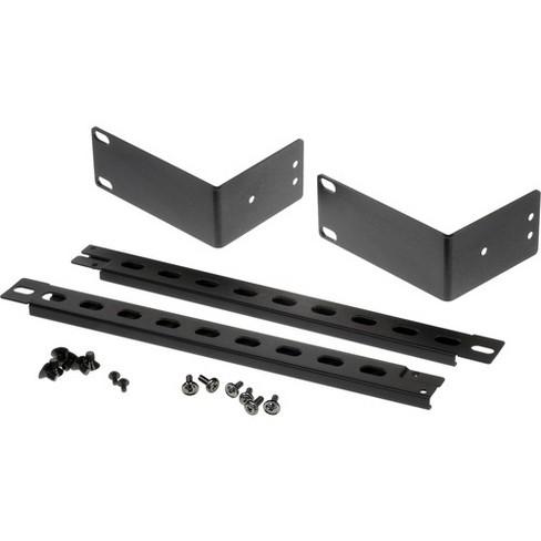 Connectpro RMK-1901 Mounting Bracket for KVM Switch, Video Splitter - Black - Black - image 1 of 3