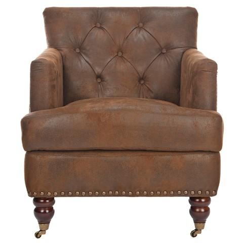 Colin Tufted Club Chair Safavieh