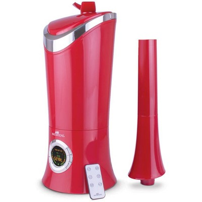 Air Innovations 1.7 Gal Ultrasonic Cool Mist Humidifier with Aroma Tray Red