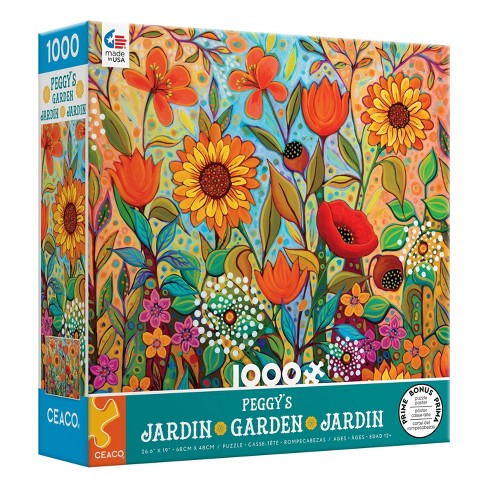 Ceaco Peggy's Garden: Joy in the Morning Jigsaw Puzzle - 1000pc - image 1 of 3