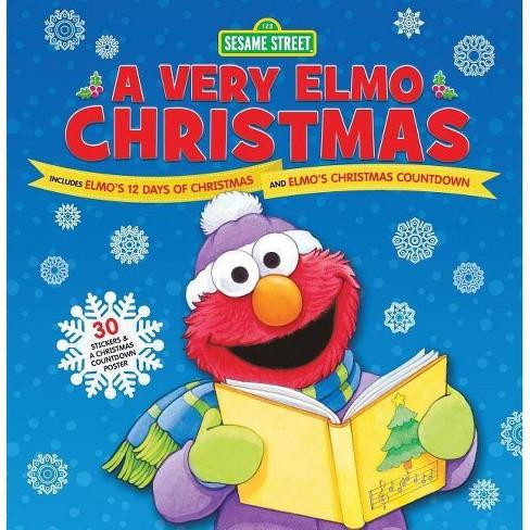 Elmos Christmas Countdown.Very Elmo Christmas Includes Elmo S 12 Days Of Christmas And Elmo S Christmas Countdown Hardcover Sesame Workshop