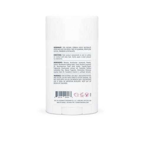 Schmidt's Rose + Vanilla Natural Deodorant - 2 65oz