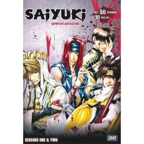 SAIYUKI TV-COMPLETE COLLECTION (DVD/10 DISC) - image 1 of 1