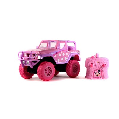 Disney Junior Minnie Mouse RC Jeep Wrangler