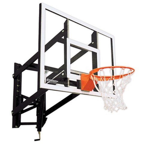 "Goalsetter GS54 54"" Wall-Mounted Glass Basketball Hoop with HD Breakaway Rim - image 1 of 1"