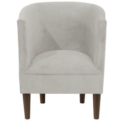 Charmant Velvet Tub Chair   Skyline Furniture