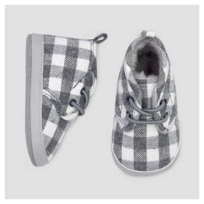 Baby Boys' Desert Plaid Boot - Just One You™ Made by Carter's® Gray 2