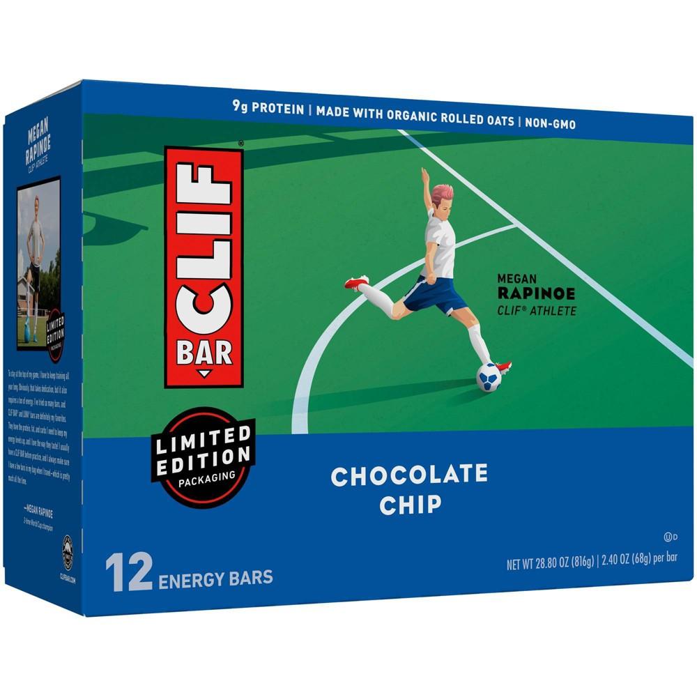Clif Bar Chocolate Chip Energy Bars 12ct
