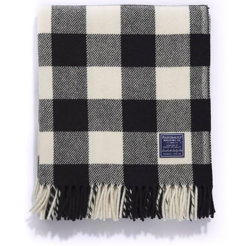 "50""x72"" Buffalo Check Throw Blanket - Faribault Woolen Mill - image 1 of 3"