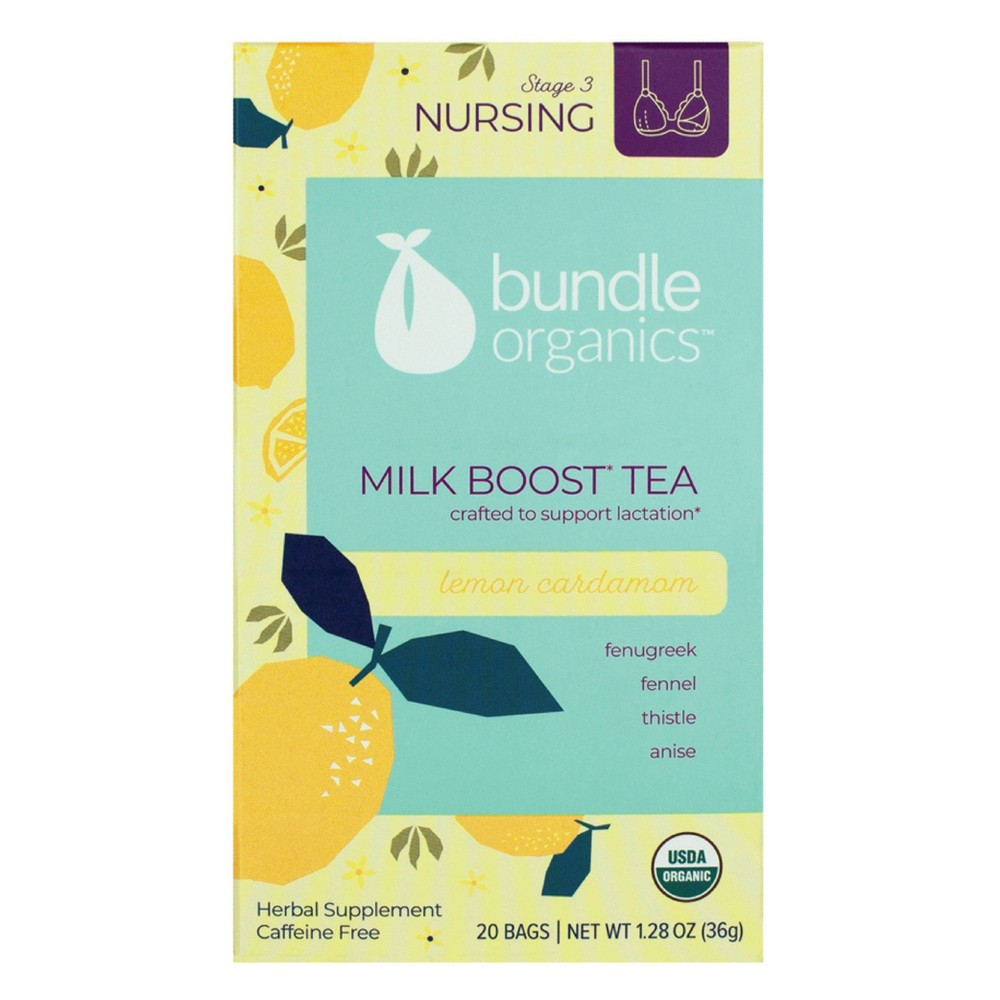 Image of Bundle Organics Nursing Support Tea - Lemon Cardamom