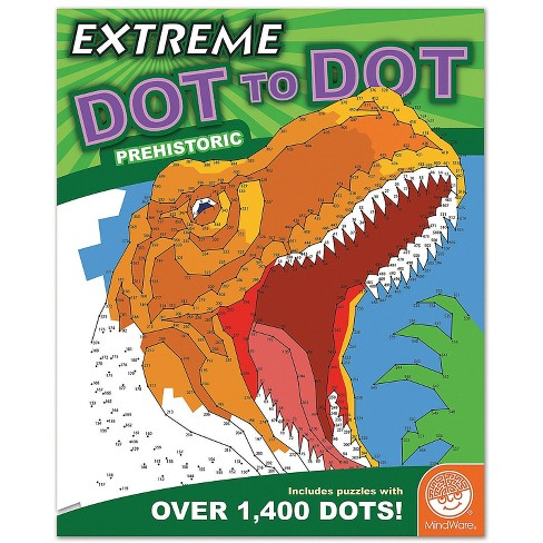 MindWare Extreme Dot To Dot: Prehistoric - Brainteasers - image 1 of 3