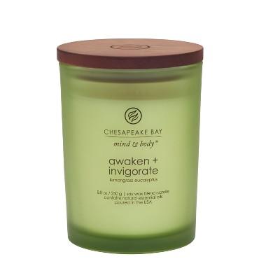 8.8oz Medium Jar Candle Awaken & Invigorate - Mind And Body By Chesapeake Bay Candle