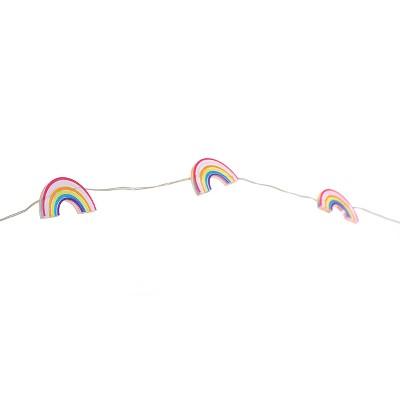 Fairy LED Rainbow String Lights White - Room Essentials™