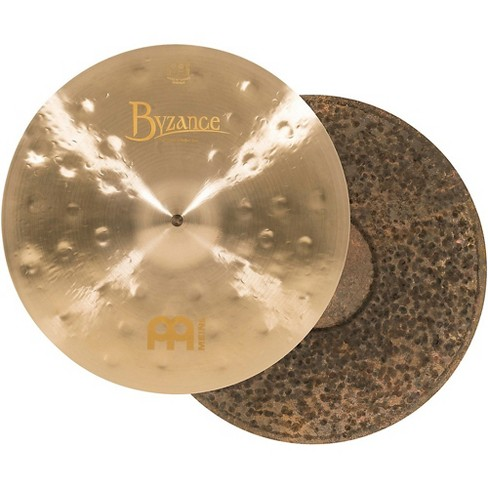Meinl Byzance Jazz Thin Traditional Hi-Hat Cymbals Pair - image 1 of 6