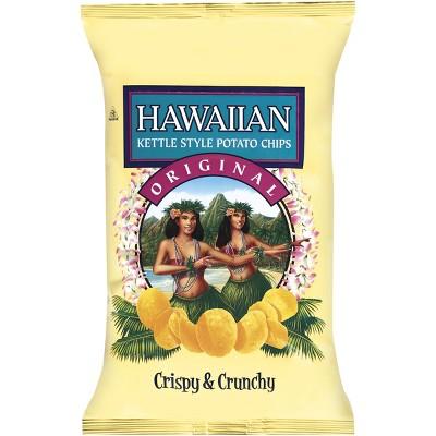 Hawaiian Original Crispy & Crunchy Kettle Style Potato Chips - 7.5oz