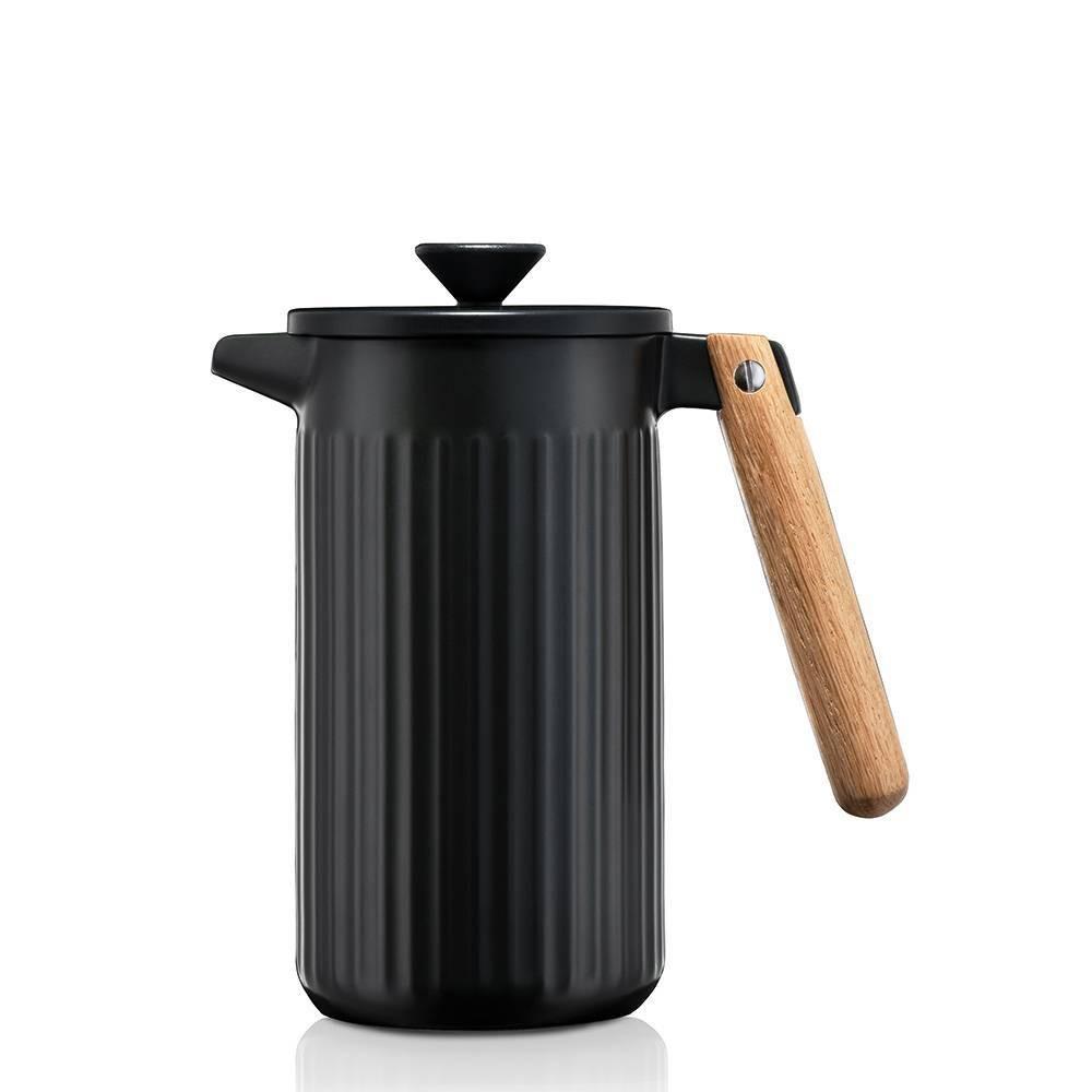 Image of Bodum 34oz 8 Cup Douro Coffee Press - Porcelain Black