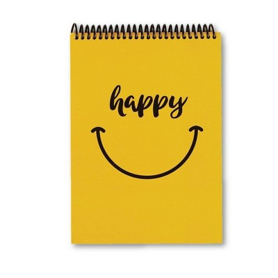 Lined Journal Happy Tracker Smiley - Fitlosophy