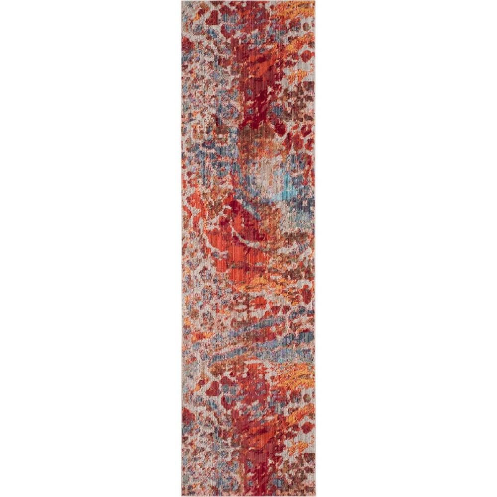 2'3X6' Fleck Loomed Runner - Safavieh, Multicolored