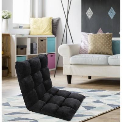 Esme Kids' Recliner Chair Black - Chic Home