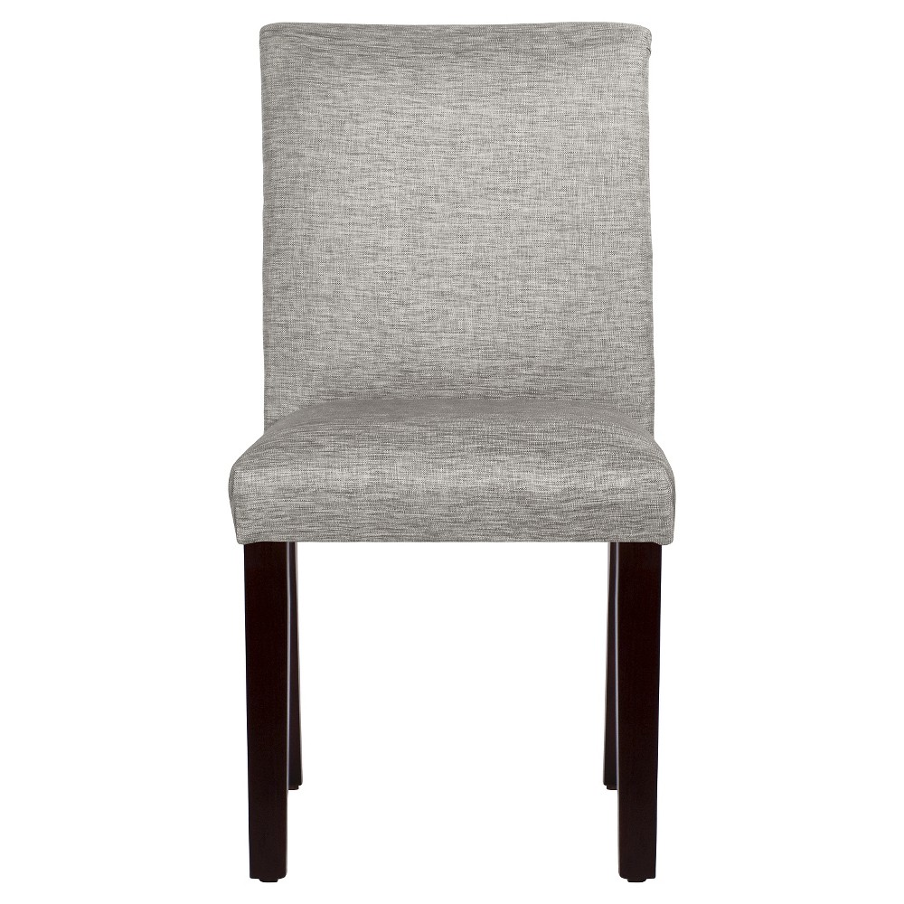 Textured Parsons Dining Chair Groupie Pewter - Threshold, Gray
