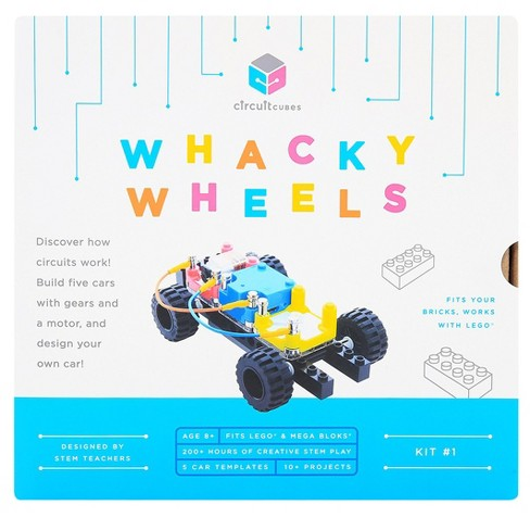 Circuit Cubes Whacky Wheels Kit - image 1 of 7