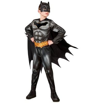 Kids' DC Comics Batman Deluxe Halloween Costume Jumpsuit with Accessories