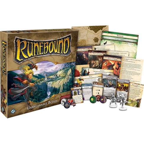 Fantasy Flight Games Runebound Third Edition: Unbreakable Bonds Board Game - image 1 of 2