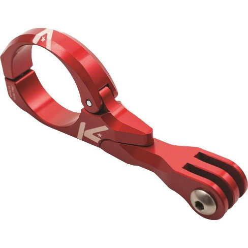K-EDGE Go Big Pro Universal Action Camera and Light Handlebar Mount 31.8mm: Red - image 1 of 2